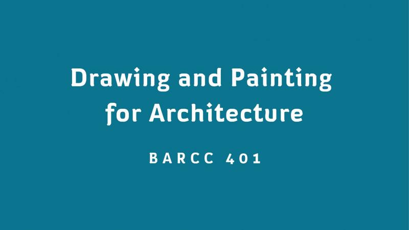 ภาพร่างทางสถาปัตยกรรม / Drawing and Painting for Architecture